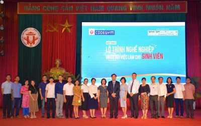 CodeGym – ĐH Hùng Vương ký kết MoU, phối hợp tổ chức hội thảo định hướng nghề nghiệp cho sinh viên