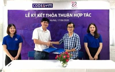 CodeGym – TopRate ký kết thỏa thuận hợp tác đào tạo – tuyển dụng