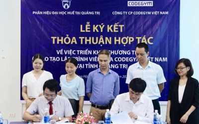 Hợp tác triển khai chương trình đào tạo lập trình viên của CodeGym tại tỉnh Quảng Trị