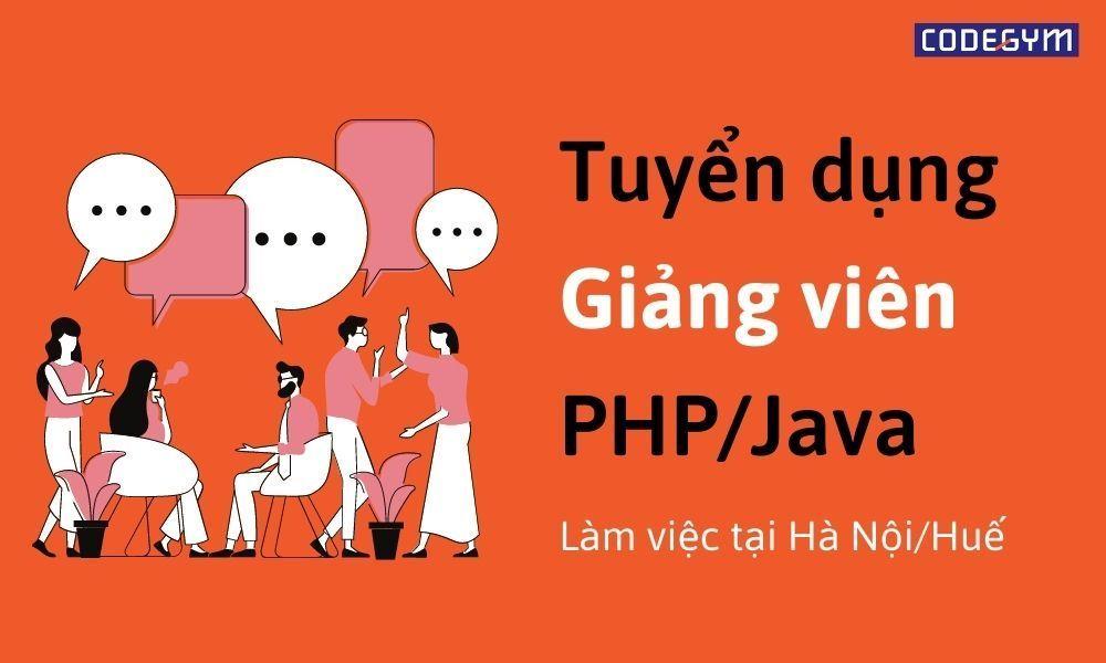 Giảng viên PHP/Java