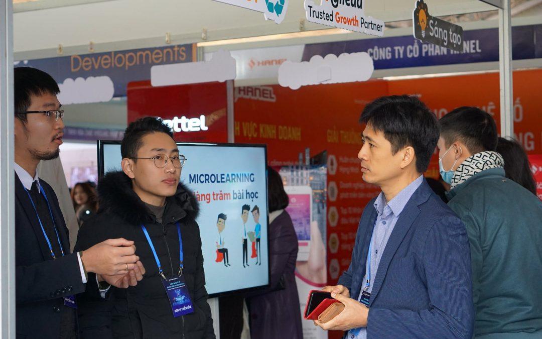 Agilearn tham gia Triển lãm Quốc tế Đổi mới sáng tạo Việt Nam 2021